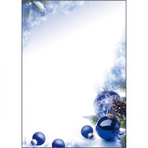 dp034 sigel weihnachts motivpapier blue harmony 90 g m. Black Bedroom Furniture Sets. Home Design Ideas