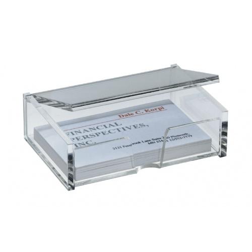 Sigel Visitenkartenbox Acryl Va112