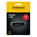 USB Stick 3.0  Super Speed USBDrive, SPEED LINE, black,...
