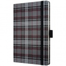 sigel Notizbuch Conceptum, Design fashion plaid,...