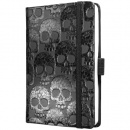 sigel Notizbuch Conceptum, Design, shiny skull,...