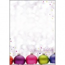 DP025 sigel Weihnachts-Motiv-Papier, Christmas Colors, 90...