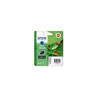 T0549, EPSON TINTE BLAU PHOTO R800/R1800, Frosch