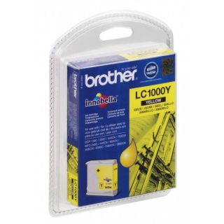 LC1000 BROTHER TINTE YELLOW für DCP 130C, FAX-1355, MFC 240C usw.